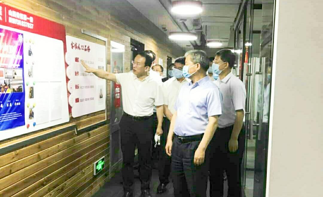 太原市委书记罗清宇一行调研考察山西睿信智达传媒科技股份有限公司